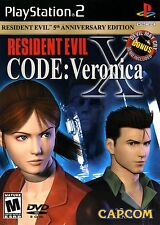 Resident Evil - CODE: Veronica X Greatest Hits - Playstation 2 Game Complete