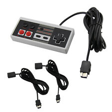 Sustitución Mandos De Juego+Extensión Cables para Nintendo NES Mini Clásico