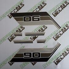 LAND ROVER DEFENDER 90 Commercial Pickup Aftermarket DECAL Stripes Sticker SET