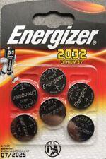 Lot de 6 piles Bouton cr2032 Energizer