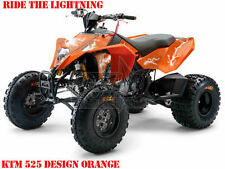 Invision DECORO GRAPHIC KIT ATV KTM 450 505 525 SX XC Ride the Lightning B