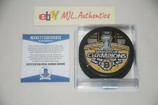 TYLER SEGUIN SIGNED AUTOGRAPHED 2011 STANLEY CUP CHAMPIONS PUCK BAS COA Q56089