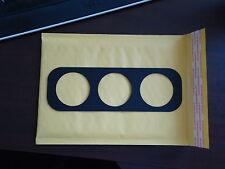 S13 (1989-1993) Middle Vent Gauge Holder: Three 52mm