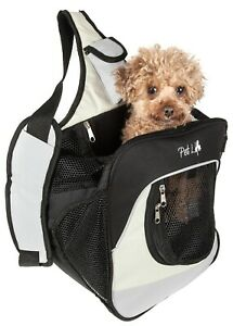 Pet Life Single Strap Over-The-Shoulder Navigation Hands Free Backpack Carrier