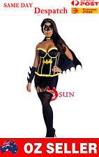 Sexy Super Hero Batman Batwoman Bat Woman Costume  Fancy Dress Up Halloween C49