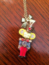 BETSEY JOHNSON SNOW ANGEL NUTCRACKER NECKLACE NWT
