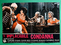 T12 Fotobusta L'Condena Implacable Hammer Terence Fisher Clifford Evans Reed 2