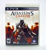 ASSASSIN'S CREED II PlayStation 3 PS3 Game GameStop Exclusive COMPLETE 2009