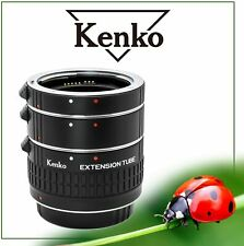 Kenko Automatic Extension Tube Set DG (3 Rings) Nikon AF for macro photography