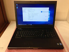 Dell Precision M6800 Laptop Intel Core i7-4600M 2.9GHz 12GB RAM 1TB SSHD Win10