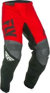 Fly Racing F-16 Youth Pants (26, Red/Black/Gray)