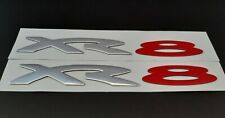 x2 Ford Falcon XR8 Badge - Brand New Pair suits BA BF FG XR8 - FREE POSTAGE AUS