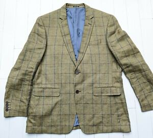VIYELLA Pure Linen Jacket Size XL (44) - Absolutely FABULOUS !!! Sublime style