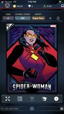 MARVEL TOPPS COLLECT! DIGITAL SUPER RARE A-FORCE 1st PRINT cc250 SPIDER-WOMAN