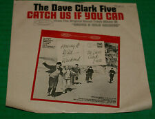 """Dave Clark Five - Catch Us If You Can/On The Move Epic 5-9833 1965 45 RPM 7"""" Oop"""