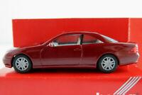 Herpa 022880 Mercedes-Benz CL-Coupé (1999-2002) in purpurrot 1:87/H0 NEU/OVP