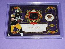 2010 Crown Royale EMMANUEL SANDERS #6 RC JSY/299 Steelers-Broncos / SMU Mustangs