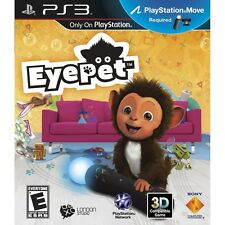 EyePet Your Virtual Pet PS3 Move Game Only NEW SEALED