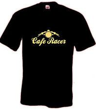 CAFE Racer t shirt regalo Papà Top Biker Rocker BSA NORTON Motorcycle Retrò Classico