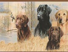 LABRADOR RETRIEVERS  MOUSE PAD  IMAGE FABRIC TOP RUBBER BACKED