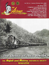 The ARROW: Jan-Mar 2014 issue, NORFOLK & WESTERN Railroad Historical Society NEW
