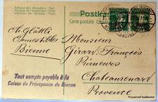 SUISSE  HELVETIA entier postal carte lettre Postale   CA12
