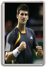 Novak Djokovic Tennis Fridge Magnet #1