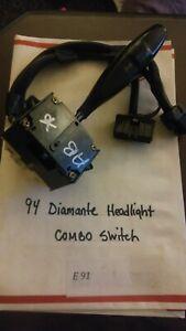 1994 Mitsubishi Diamante Headlight Combination Turn Signal Switch E091