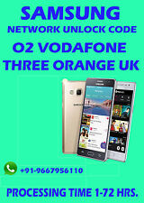 SAMSUNG UK EE VODAFONE O2 ETC GALAXY ACE ALPHA NOTE 4 S4 S3 S2 LTE UNLOCK CODE