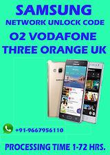 SAMSUNG UK EE VODAFONE O2 ETC GALAXY ACE ALPHA NOTE 4 S4 S3 S2 LTE UNLOCK CODE