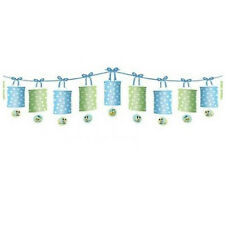 MICKEY MOUSE 1st BIRTHDAY PAPER LANTERN GARLAND ~ First Party Supplies Hanging