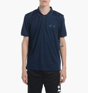 Reebok Classic x Wood Wood Polo Sizes XS-XL Navy RRP £55 BNWT AK1375