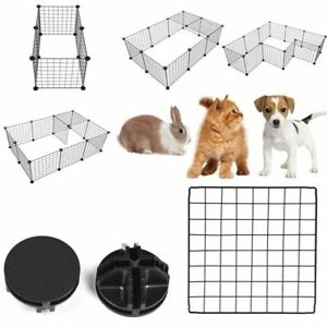 Pet Playpen Bunny Cage Fence - Exercise Pen Crate Kennel Hutch for Guinea Pig
