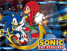 **Legit** Sonic the Hedgehog Knuckles Authentic Anime Game Throw Blanket #57718