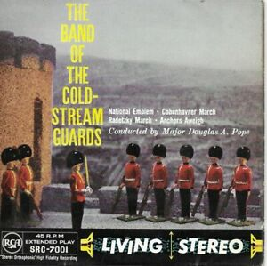 Disque Vinyle 45 Tours The Band of the cold-stream guards RCA SRC 7001