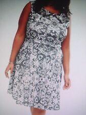 BRAND NEW WITH TAG PRASLIN SLEEVELESS DRESS  - SIZE- UK 24 - FITS AUS 18/20