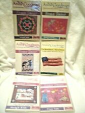 Lot of 6 Anita Goodesign Embroidery Design Cd's Various Collections