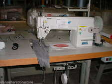 HEAVY DUTY Industrial Sewing Machine Set up for Upholstery not walking foot