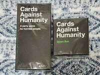Cards Against Humanity Base Game + Green Expansion Box: CAH 900 Card Bundle*NEW*