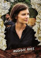 Walking Dead Season 8 Part 1 CHARACTER Insert Card C-4 / MAGGIE RHEE