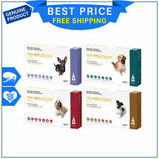 Revolution for Dogs 6 Pipettes Flea Heartworm Prevention by Zoetis