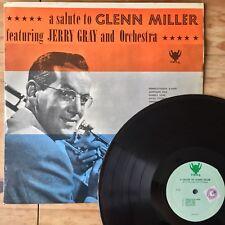 Tribute To Glenn Miller Jerry Gray (Egmont Viking VK 013) Rare Heavy Vinyl 180g