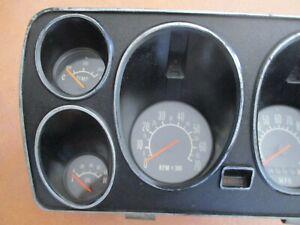 holden LC torana gtr dash fascia speedo tacho gauges suit instrument cluster lj