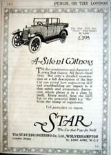 Rare Original 1926 STAR 'Orion' 4-Seater deLuxe Motor Car ADVERT: Small Print Ad