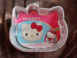 Wilton HELLO KITTY Kitten Cat Girls Birthday Party Cake Pan Mold #2105-7575