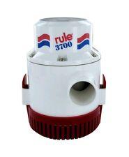 "Rule 3700 GPH Boat Bilge Pump 24V DC Model 16A Non-Automatic 1-1/2"" Submersible"