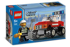 LEGO City Fire Car (#7241)(Retired 2005)(Very Rare)(NEW)