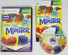Sesame Street: Once Upon A Monster XBOX 360 Kinect PAL Complete FAST FREE POST