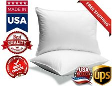 LUXURY  FOAM CORE ORTHOPAEDIC EXTRA SUPPORT FIRM BED PILLOWS