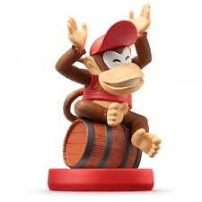 Amiibo Diddy Kong Super Mario Series Japan Nintendo 3DS Wii U Game Accessory F/S